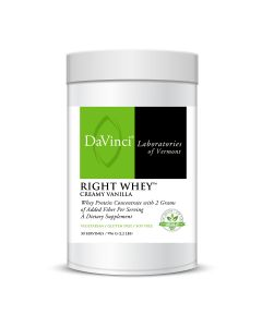RIGHT WHEY™ CREAMY VANILLA (30)