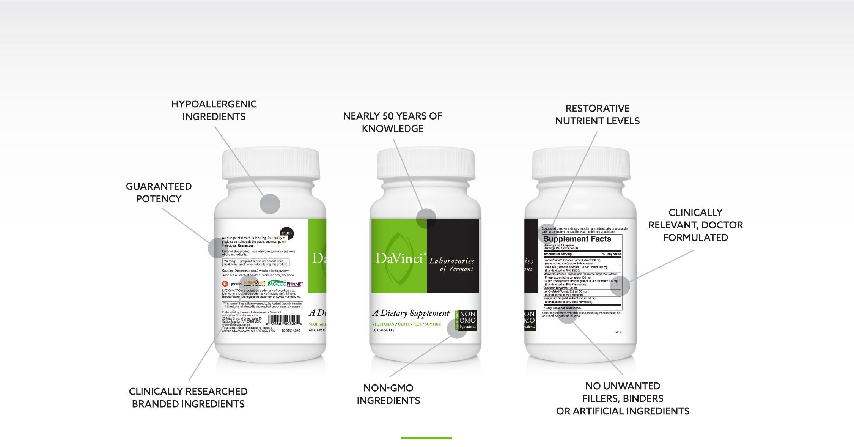 Description of whats inside each DaVinci product